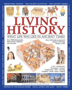 Living History: What Life was Like in Ancient Times by Charlotte Hurdman http://www.amazon.com/dp/1843229374/ref=cm_sw_r_pi_dp_5b0Ywb03WZ05G