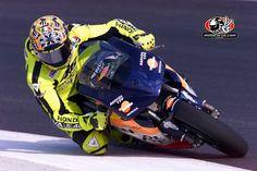 Valentino Rossi, pre season testing, 2001