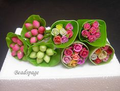 Hey, I found this really awesome Etsy listing at https://www.etsy.com/listing/120139047/16-scale-dollhouse-miniature-flower