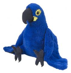 "Hyacinth Macaw Cuddlekins 12""(Large) at theBIGzoo.com, a toy store that has shipped over 1.2 million items."