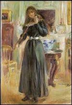 Julie Manet au violon de berthe Morisot
