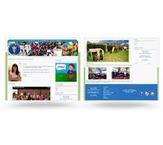 Colegio Divino Niño Website by David Torres Mora, via Behance