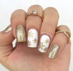 Trendy nails cute simple sparkle ideas