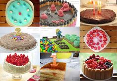 9 tartas de cumpleaños para niños - http://www.thermorecetas.com/9-tartas-cumpleanos-ninos/