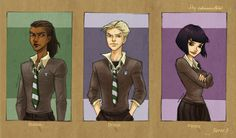 HP Characters_Serie 3 by mary-dreams on DeviantArt