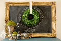 Preserved Boxwood Wreath - From Antiquefarmhouse.com - http://www.antiquefarmhouse.com/current-sale-events/best-of2/preserved-boxwood-wreath.html
