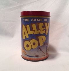 The Game of Alley OOP Vintage Game in Box Works Fun Made in USA Collectible #AlleyOOP