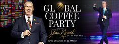 Join us for this Global Live Coffee Party and Let's Celebrate the Universal Language of COFFEE! No Borders, No Boundaries. I Love Coffee, Lets Celebrate, Coffee Lovers, Join, Celebrities, Business, Crochet, Party, Coffee Drinkers