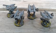 Challenge 2013: Post Human Republic Additions | Riquende's Wargaming Blog