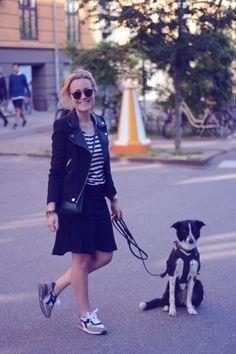 Sneakers og striber | Emily Salomon