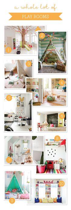 10 Fun & Friendly Playrooms ~ Tinyme