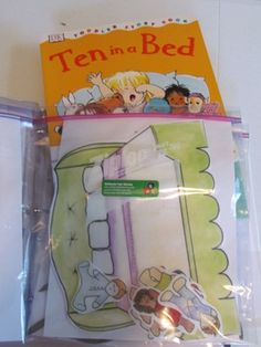 Quick tip for storing your preschool flannel board stories | Teach Preschool