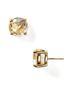 Kate Spade New York Crystal Stud Earring Clear * Check this out by going to the link at the image.
