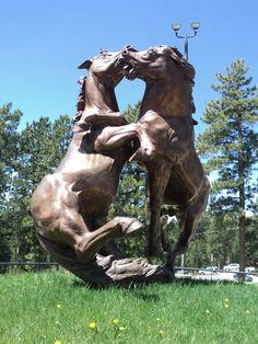Crazy Horse, Custer, South Dakota Deadwood South Dakota, North Dakota, Vacation Places, Vacation Ideas, Travel Sights, Beautiful Sites, Crazy Horse, Public Art, Statues