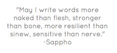 I Write... Naked, Strong, Resilient, & Sensitive