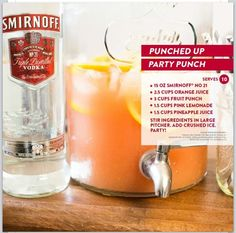 Smirnoff party punch!!!