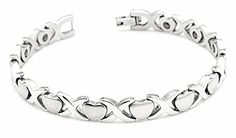 Hpolw Lovers Heart Bracelets Magnetic Stone Titanium Steel Chain Bracelet for Women Hpolw http://www.amazon.com/dp/B00YDZPIFU/ref=cm_sw_r_pi_dp_El58vb1FA8526