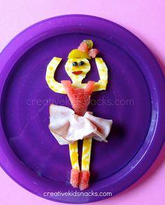 Creative Kid Snacks: Ballerina by Creative Kid Snacks, via Flickr
