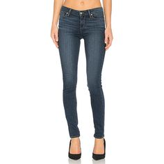 Paige Denim Verdugo Ultra Skinny ($190) ❤ liked on Polyvore featuring jeans, super skinny jeans, paige denim jeans, faded blue jeans, frayed jeans and blue jeans