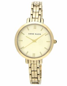 Jewelry  Accessories | Women's Watches | Ladies Gold-Tone  Champagne Dial Watch | Lord and Taylor