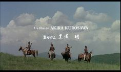 Ran (Akira Kurosawa, 1985) - Shot from the breathtaking opening sequence of the film.