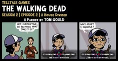 TWD S2E2 | A Joke Divided by TheGouldenWay on DeviantArt