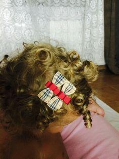fiocco, nastro capelli, baby, headband, bow, satin , ribbon,