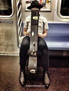 Subway. #Eyespiration! New York City miksang moment © MelanieRijkers.com