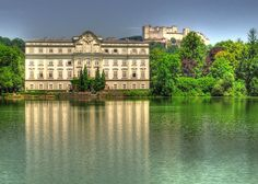 Schloss Leopoldskron, Salzburg. This was on my walk to school when I lived there.
