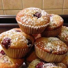 Meggyes muffinok Recept képpel - Mindmegette.hu - Receptek