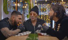 Тимати, Филипп Киркоров и Григорий Лепс в Black Star Burger