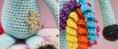 eenhoorn haken gratis haakpatroon ster Diy Crochet, Friendship Bracelets, Unicorn, Knitting, Fun, Baby, Amigurumi, Crochet Unicorn, Mythological Creatures