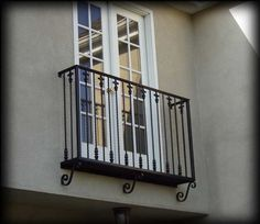 French Balcony | How do I draw a French Balcony?