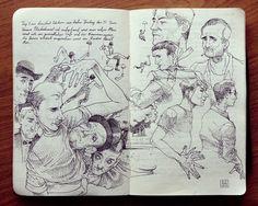 2.2 Sketchbook 2013 by Jared Muralt, via Behance