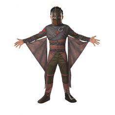 Draak Hiccup kostuum voor kinderen. Dit Hiccup krijger kostuum, bekend van de film Hoe Tem Je Een Draak, bestaat uit een jumpsuit vleugels, schoenhoezen en een masker. Carnavalskleding 2015 #carnaval