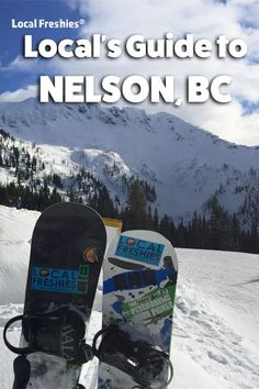 If being outside is your thing, Nelson, BC has it all: cat skiing, heli-skiing, chairlift accessed terrain and even backcountry excursions. Wind down the day enjoying Nelson's distinct and quirky downtown area. Ski Canada, Best Ski Resorts, Big Mountain, Best Skis, Canada Images, Ultimate Travel, Winter Fun, Snowboard, Travel Guide