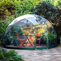 The Garden Igloo #tinyhouse #architecture #home #micro #nature #tinyhomes #architect #house #modern #green #tinyhousemovement #cool #future #tiny #design #minimalist #greentinyhouse