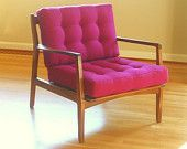 The Steve - A Mid Century Modern Inspired Lounge Chair  I love this chair on Etsy!!!