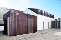 Completed in 2017 in Trafaria, Portugal. Images by Ines Brandao. Rehabilitation of a single-family house, located in the center of Trafaria - a fishing village on the left bank of the Tejo River, in front of...
