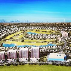 Artists impression: Part of the new 9 hole living legends Golf Course being built in Dubai by Harradine Golf, more on the website #dubai #abudhabi #golf #uaegolf