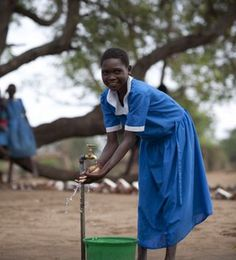 Women and girls in developing countries haul water for an average of 4 hours a day. That's hours of time lost that could be going to school, work, and play. How much is 4 hours worth to you? To learn more about the Water for People movement, go to http://www.crowdrise.com/WaterForPeopleSupporters