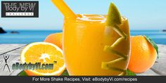 Body by Vi Orange Dream Shake Recipe