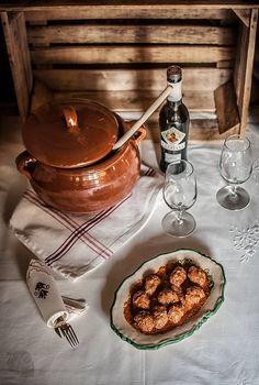 Albóndigas sefardíes con ñoras y cominos | Recetas con fotos paso a paso El invitado de invierno