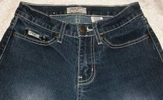 """Paco Jeans Distressed Jeans with Attitude 2% Spandex Stretch 32"""" inseam Size 3  #PacoJeans #Flare"""