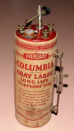 Vintage Hombrew Crystal Radio