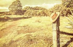 Vintage country landscape with outback farm hat on rural outpost. Taken Zeehan, Tasmania, Australia by Jorgo Photography - Wall Art Gallery