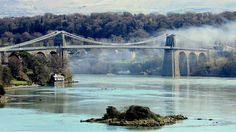 Menai Bridge on Anglesey, North Wales, UK - Your Pictures: Photos from Wales - BBC News