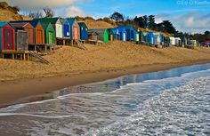 Abersoch beach huts if you have a look, there's the green one, the white one, a blue one and an orange and white one (in that order), my family's is the blue one :) Beach Shack, Beach Huts, Wales Snowdonia, Travel Around The World, Around The Worlds, Wales Beach, Snowdonia National Park, Coastal Colors, Barns Sheds