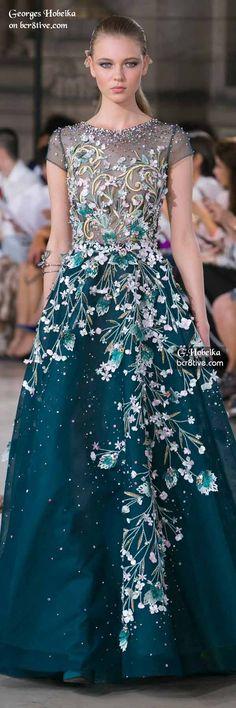 Georges Hobeika Fall 2016 Haute Couture …