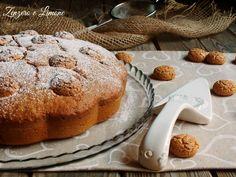torta nua alla nutella e amaretti